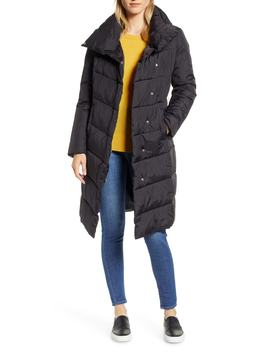 Long Puffer Coat by Halogen®