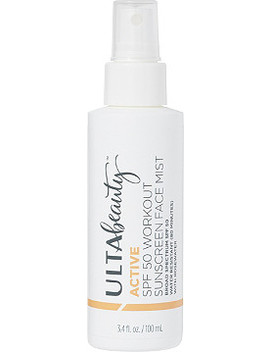 Active Spf 50 Workout Sunscreen Face Mist by Ulta