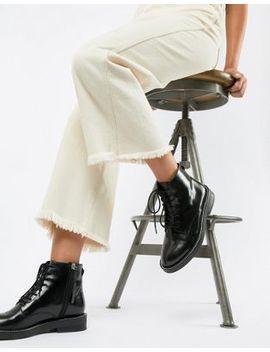 Кожаные ботинки на шнуровке Asos Design by Asos