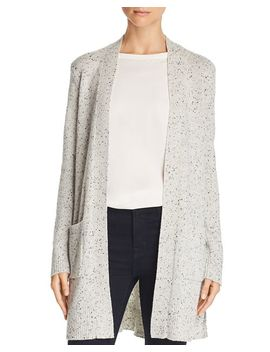 Open Front Cashmere Cardigan by Theory
