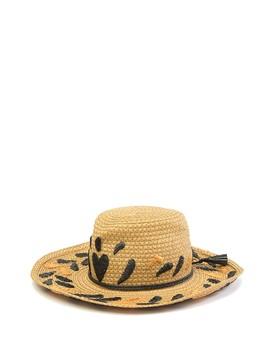 Corsica Patterned Cowboy Hat by Eric Javits