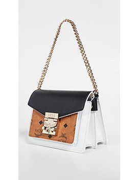 Patricia Visetos Colorblock Mini Crossbody by Mcm