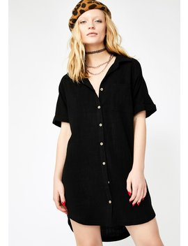 Chilled Out Shirt Dress by Very J