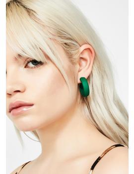 Sneaky Sass Hoop Earrings by Ana Accessories