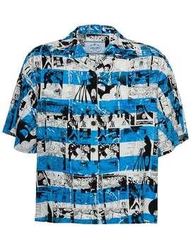 Short Sleeved Printed Shirt by Prada