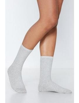 Sleep On It Cotton Socks by Nasty Gal
