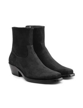 Western Tod Suede Ankle Boots by Calvin Klein 205 W39 Nyc
