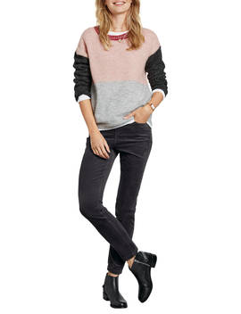 Hush Colourblock Jumper, Multi by Hush