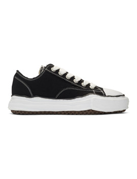 Black Original Sole Sneakers by Miharayasuhiro