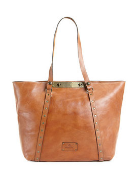 Benvenuto Smooth Leather Tote by Patricia Nash