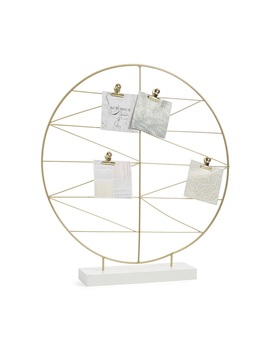 Gold Circular Organiser by Primark