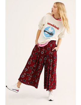 Lady Lady Printed Trousers by Free People