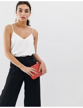 River Island Cami Top In White by River Island