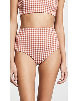 Lydia High Waist Bottoms by Mara Hoffman