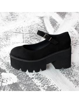 Harajuku Retro Platform Shoes Yv40726 by Youvimi