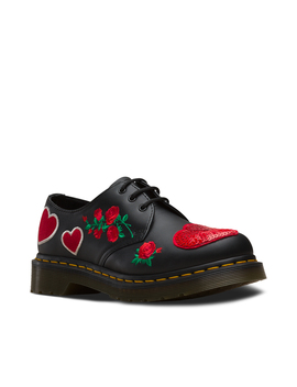 1461 Sequin Hearts by Dr. Martens
