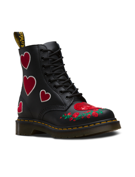 1460 Pascal Sequin Hearts by Dr. Martens