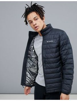 Columbia Powder Lite Jacket In Black by Columbia