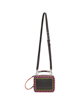 Black 'the Whipstitch Box' Bag by Marc Jacobs