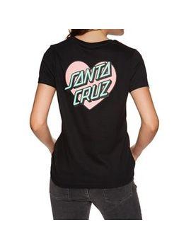 Santa Cruz Heart Dot Tee T Shirt by Santa Cruz