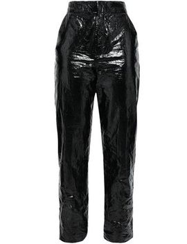 Vinyl Tapered Pants by Georgia Alice