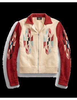 Cashmere Zip Jacket by Ralph Lauren