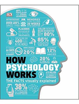 How Psychology Works: The Facts Visually Explained (How Things Work) by Dk