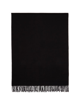 Black New Canada Scarf by Acne Studios