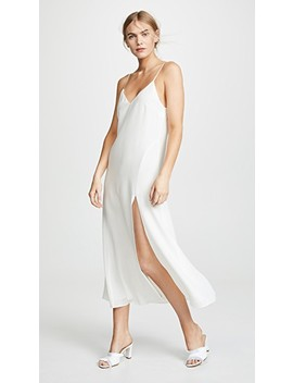 Silk Slip With Slit by Fleur Du Mal