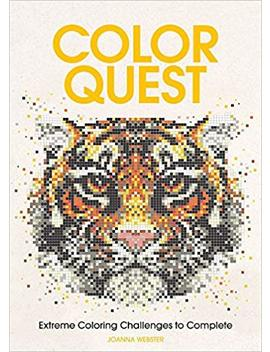 Color Quest: Extreme Coloring Challenges To Complete by Joanna Webster