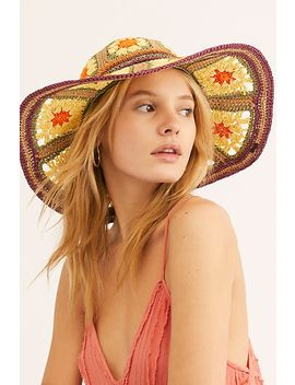 Summer Of Love Straw Hat by Free People