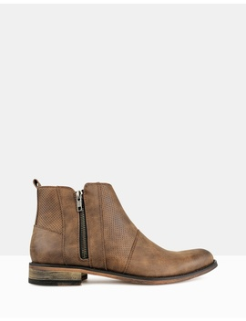 Base Zip Up Ankle Boots by Betts