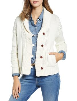 Shawl Collar Fisherwoman Cardigan by 1901