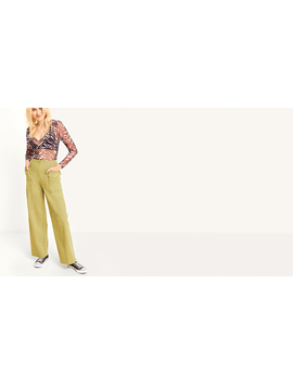Khaki Side Pocket Combat Trouser by Nobody's Child
