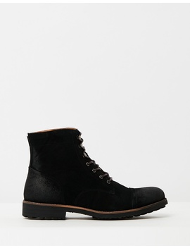 Hunt Oiled Suede Boots by Double Oak Mills
