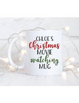 Custom Christmas Movie Watching Mug, This Is My Hallmark Mug, Funny Coffee Mug, Christmas Mug, Funny Christmas Gift, Sister, Best Friend,Cup by Etsy