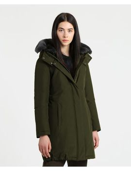 W's Bow Bridge Coat by Woolrich