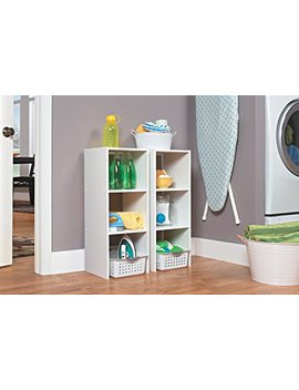 Closet Maid 8953 Stackable 31 Inch Vertical Organizer, White by Closet Maid