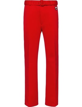 Technical Jersey Trousers by Prada