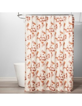 Mesa Floral Shower Curtain Sour Cream   Project 62™ by Project 62