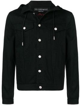 Hooded Denim Jacket by Alexander Mc Queen