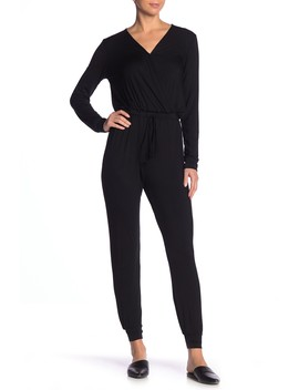 Long Sleeve Knit Jumpsuit by Good Luck Gem