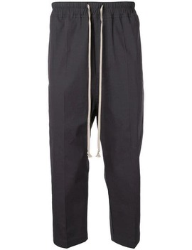 Cropped Tailored Trousers by Rick Owens