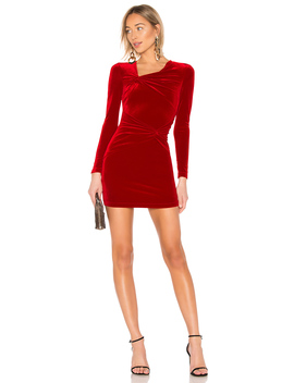 X Revolve Tordi Velvet Dress by Ronny Kobo