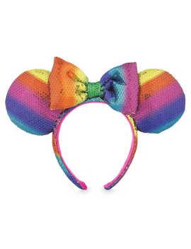Minnie Mouse Ear Headband   Rainbow by Disney