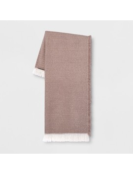 Acrylic Throw Blanket Neutral   Project 62™ by Shop This Collection