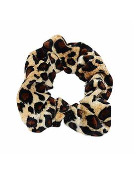Aojian Accessories Women Headband Elastic Leopard Ponytail Scrunchie 5 In 1 Headwrap Hair Band by Aojian