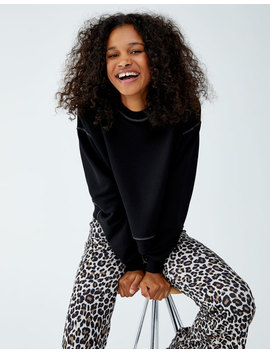 Dikiş Detaylı Sweatshirt by Pull & Bear