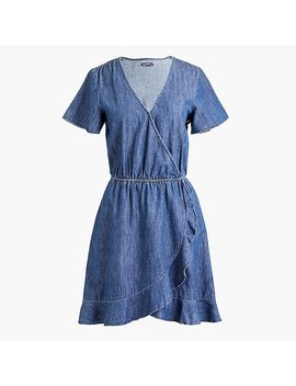 Ruffle Wrap Dress by J.Crew