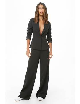 Suit Jacket & Pants Set by Forever 21